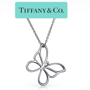 💎 TIFFANY & CO. Large Butterfly Pendant: retired